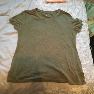 Rue 21 army green soft short sleeve T-shirt